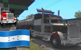 MAP OF WEST HONDURAS 1.36.X