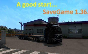 A Good Start SaveGame 1.36