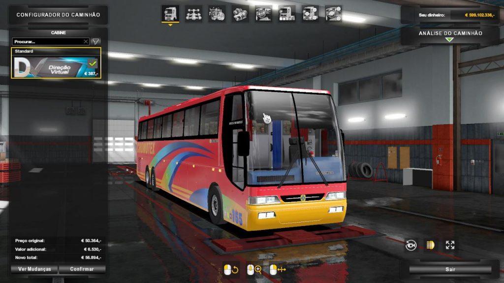 Bus Busstar Vissta Bus MB 6x2 v2.0
