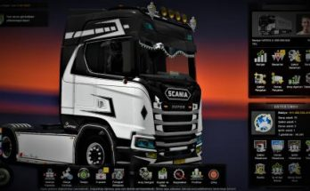 ETS2 – 1.36x Finished Save Game Profile
