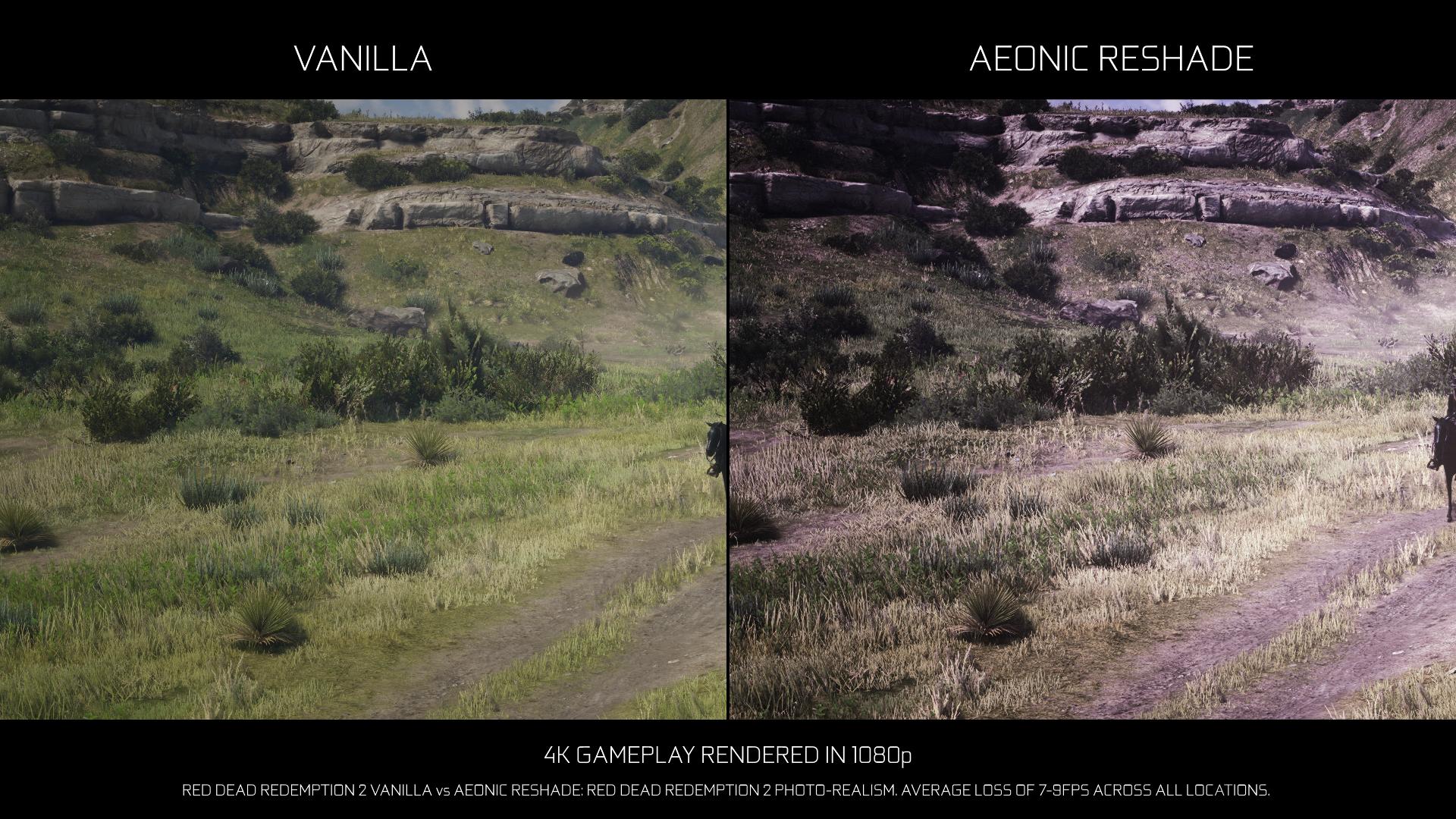 Aeonic ReShade - RDR2 Photo-realism Overhaul
