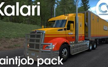 KALARI TRANSPORT PAINTJOB PACK V1.0