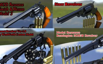 MOD Resource Revolver pack