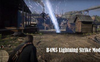 RDR2 Lightning Strike Mod - STORM