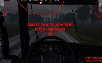 SMALL ROUTE ADVISOR & MINI MIRRORS ATS 1.36.X