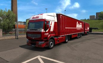 Combo skin Adams for Renault Premium v1.0