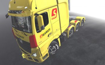 Skins - Silvasti - for all mercedes actros mp4 1.36