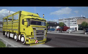 Scania G420 8x2 v1.0