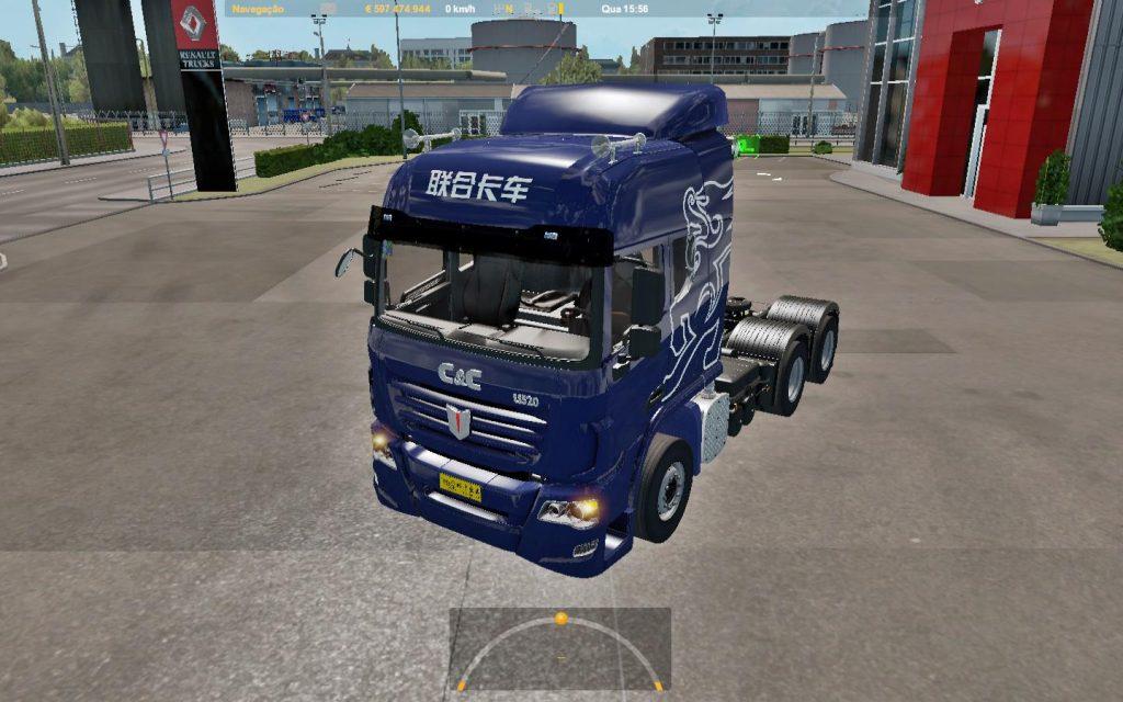 Truck mod C&C U520 for 1.36 v2.0