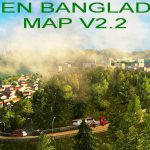 Green Bangladesh Map v2.2 1.36.x