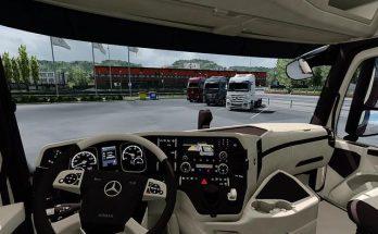 Mercedes Benz MP4 CMI Beige Brown Interior v1.0