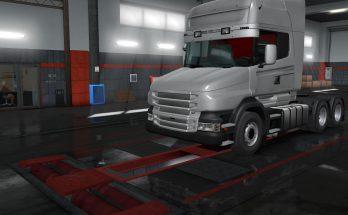 SCANIA PGRT Old Heavy Bumper v 1.0