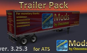 TRAILER PACK BY OMENMAN 1.40