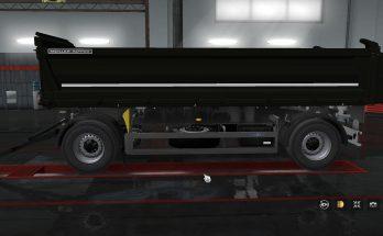 Kipper trailer own 1.35-1.36
