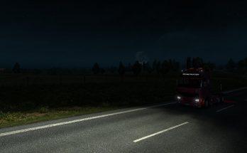REALISTIC NIGHT SKIES ETS2 1.36