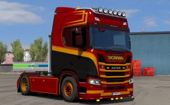 Scania R 2016 Holland Style Colored Skin 1.36.x