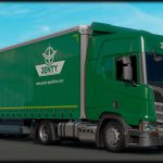 Scania R Highline Jenty Green Combo Skin v1.0