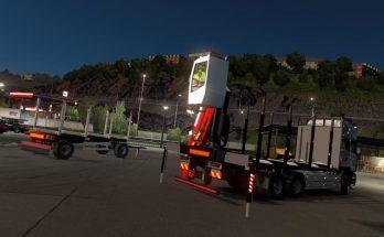 Scania R RJL Rigid Forest Parts v1.0