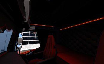 Volvo FH 2012 Black & Amber Interior 1.36