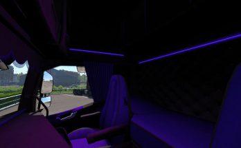 Volvo FH 2012 Black & Amber Interior v1.0
