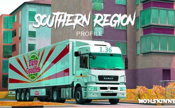 Profile - For Southern Region Map 1.36