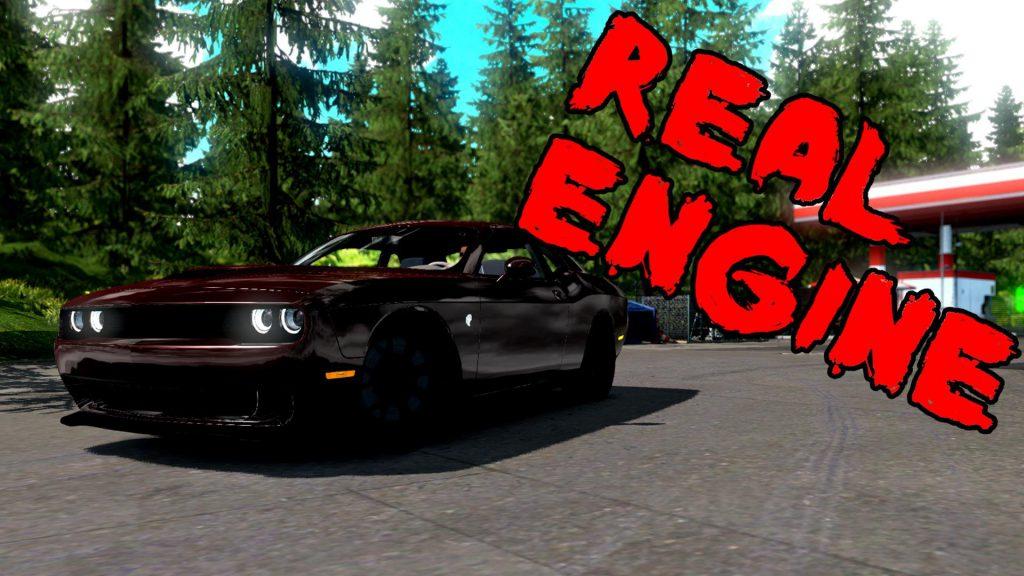 Dodge Challenger [Real Engine] 1.36