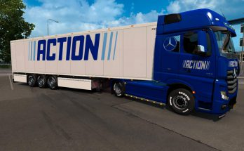 ACTION SKINS FOR MB ACTROS MP4 1.36.x