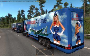 Aerodinamic trailers in traffic 1.36