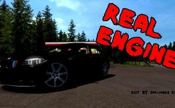 BMW M5 F10 X-Drive Real Engine 1.36