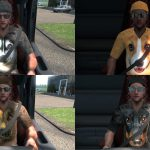 Dog T Shirt Skin Pack 1 For Driver v1.0