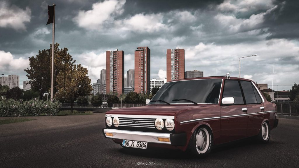 Fiat 131 ETS2 v2.0 1.36