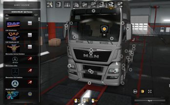 Interior Lights for all SCS Trucks (SP & MP) 1.36.x