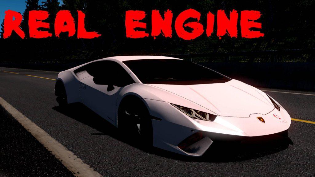 Lamborghini Huracan [Real Engine] 1.36
