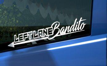 Leftlane Bandito Sticker for Glass 1.36.x