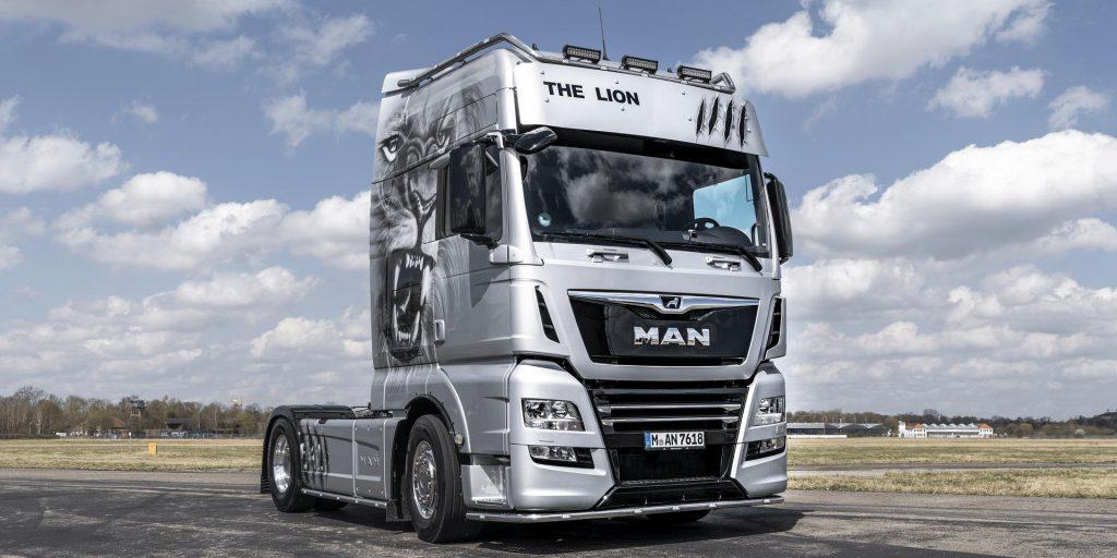 Man Tgx Euro 6 Real D38 Engine Sound V6 1.36