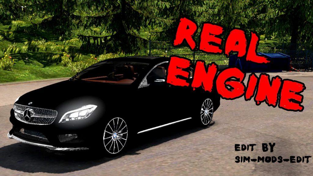 Mercedes-Benz CLS 350D 2017 [Real Engine] 1.36