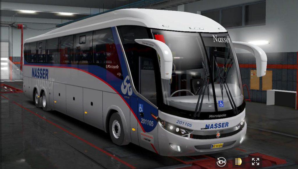 Bus G7 Scania 6x2 v3.2