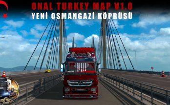 Onal Turkey Map v1.0 Beta