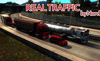 Realistic traffic density 1.36