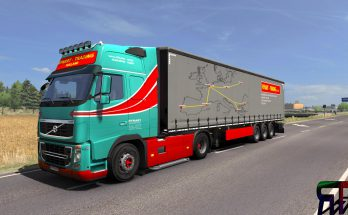 RYNART Combo for Volvo FH16 2009 and FH16 2012 v1.0