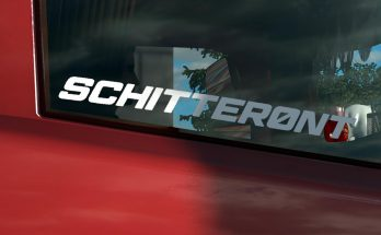 Schitteront sticker for glass v1.0