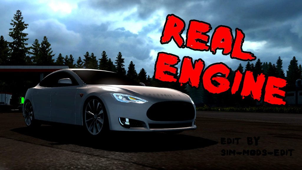 Tesla Model S [Real Engine] 1.36