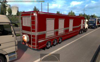 Trailer Caravan in traffic 1.36