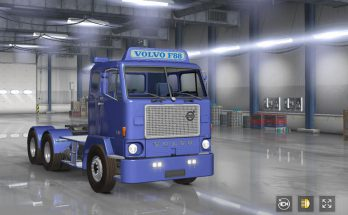 Volvo f88 for ATS & ETS2 1.36