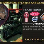 KENWORTH W900 625HP, GEARBOX FOR DAF TRUCKS V1.0