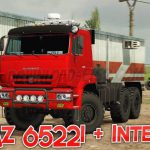 Kamaz 65221 + Interior v1.0 1.36.x