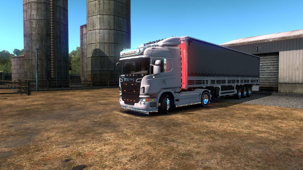 Scania G420 + Trailer 1.36.x