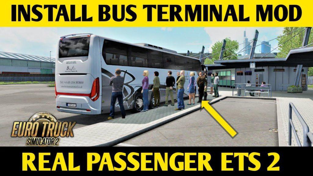 Bus terminal mod ets2 1.36