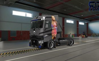 Kimberly Paintjob for Renault Range T v1.0