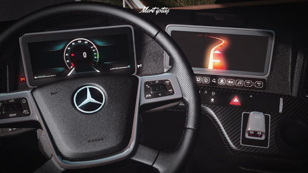 Mercedes Benz Actros MP5 - 2020 MirrorCam 1.37